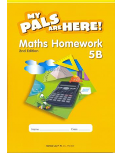 My Pals are Here Maths Homework 5B (2E)