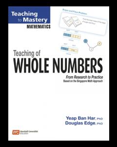 Teaching of Whole Numbers (Teaching to Mastery Mathematics series)