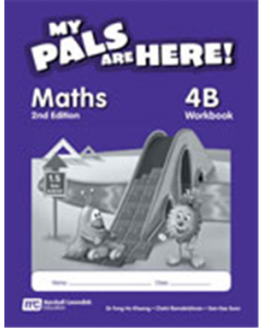 My Pals Are Here! Maths Workbook 4B (2nd edition)