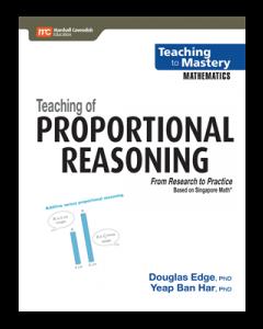 Teaching of Proportional Reasoning (Teaching to Mastery Mathematics series)