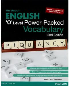'O' Level English Series Power-Packed Vocabulary