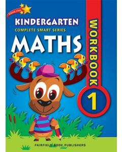 Complete Smart Series Kinder Maths Workbook 1