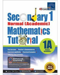 Secondary 1 Normal (Academic) Mathematics Tutorial 1A