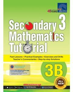 Secondary 3 Mathematics Tutorial 3B