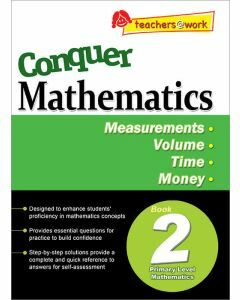 Conquer Mathematics Book 2: Measurements, Volume, Time, Money