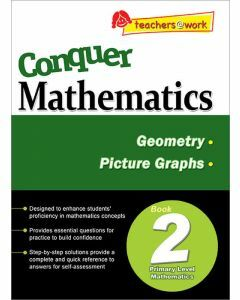 Conquer Mathematics Book 2: Geometry, Picture Graphs