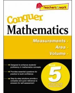 Conquer Mathematics Book 5: Measurements, Area, Volume