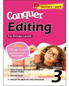 Conquer Editing Workbook 3