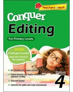 Conquer Editing Workbook 4