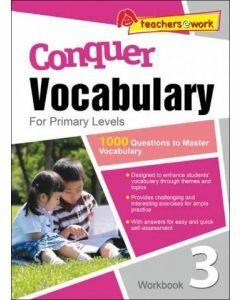 Conquer Vocabulary for Primary 3