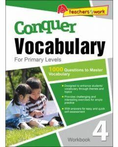 Conquer Vocabulary for Primary 4