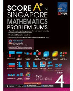 Score A in Singapore Maths Problem Sums Level 4