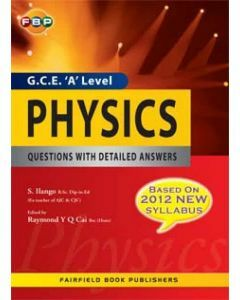 G.C.E. 'A' Level Physics Questions with Detailed Answers