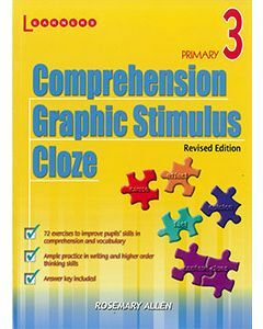 Comprehension, Graphic Stimulus, Cloze Book 3 Revised Edition