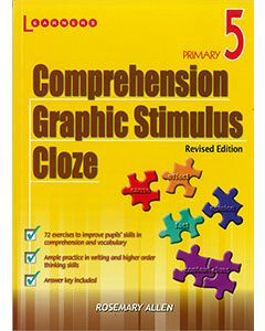 Comprehension, Graphic Stimulus, Cloze Book 5 Revised Edition