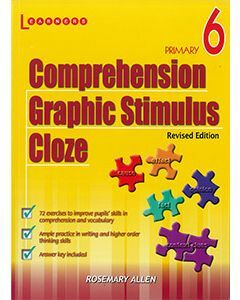 Comprehension, Graphic Stimulus, Cloze Book 6 Revised Edition