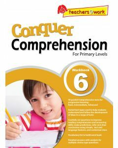 Conquer Comprehension Workbook 6