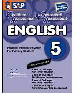 Continual Assessment & Semestral Assessment English 5