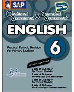 Continual Assessment & Semestral Assessment English 6