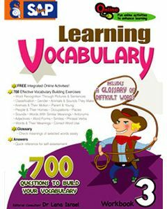 Learning Vocabulary Workbook 3