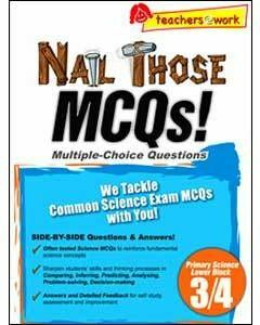 Nail Those MCQs! Primary Science Lower Block 3/4