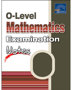 O Level Mathematics Examination Notes