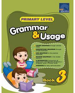 Primary Level Grammar & Usage Book 3