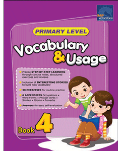 Primary Level Vocabulary and Usage Book 4