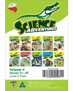 Science Adventures Issues 31-40 Level 2 Pack (Ages 9-10)