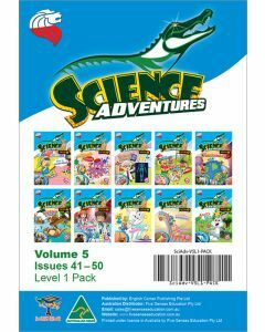 Science Adventures Issues 41-50 Level 1 Pack (Ages 6-8)