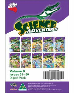 Science Adventures Issues 51-60 Digest Pack (Ages 10-12)